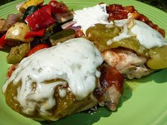 Everyday Dutch Oven: Smothered Green Chile Pepper Chicken