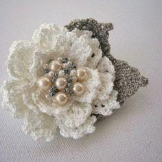 Irina: Nice Crochet Flowers.