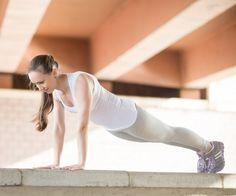 30-Tage-Bauch-Challegne: Plank