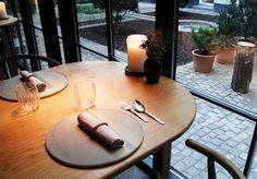 Kay Bojesen Grand Prix cultery at the Michelin restaurant Kadeau in Copenhagen. Danish Design, Cutlery, Grand Prix, Copenhagen, Restaurants, Table Decorations, Interior, Home Decor, Indoor