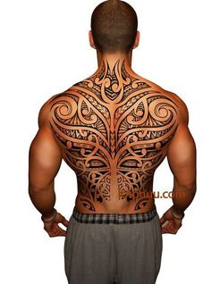 Polynesian, Samoan, Maori, Tribal Tattoo - I want Tattoo
