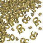 50th Gold Anniversary Confetti, 0.5 oz. | 1 ct