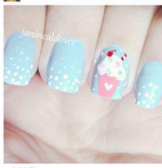 Cupcake nails ..... GIMME!!!!!