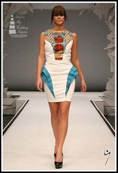 African Ankara Style Inspiration - My Nigerian Wedding Ghana Fashion, African Fashion Ankara, African Inspired Fashion, African Print Fashion, Africa Fashion, Ethnic Fashion, Fashion Prints, African Prints, African Textiles