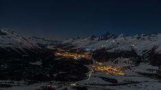 Engadine by night • #switzerland #visitswitzerland #myswitzerland #superswitzerland #loves_united_switzerland #amazingswitzerland #graubünden #mygraubünden #graubündenpics #graubündenpur #graubündenlove #stmoritz #engadin • #muotasmuragl #nightshot #aussicht #winter #märz • #LiveForTheStory  #switzerlandpictures St Moritz, Visit Switzerland, Mount Everest, Mountains, Night, Amazing, Winter, Travel, Instagram