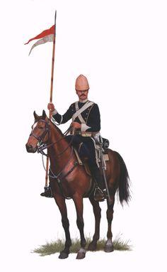 Zulu Wars 1879 - Calvaryman of the Lancers British Army Uniform, British Uniforms, British Soldier, Military Uniforms, Military Art, Military History, Savage Worlds, British Colonial, British History