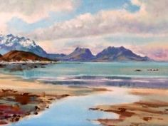 Kaikoura Coast an original painting by Aston Greathead , is at Gallery now.