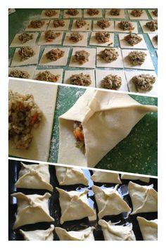 My first Jordanian Ouzi  preparation