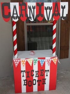 Carnival Ticket Booth by becky