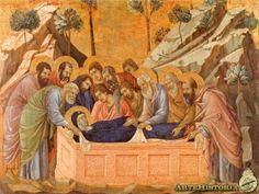 Sepultura de la Virgen - Duccio. Catedral de Siena.