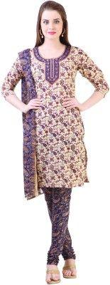 Libas Printed Straight Suit - Buy Beige Libas Printed Straight Suit Online at Best Prices in India | Flipkart.com