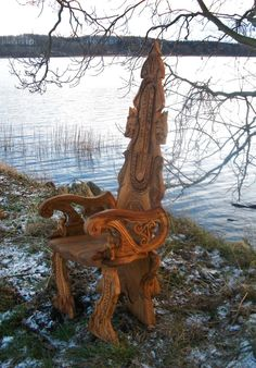 ~ A space where I let the inspiration of Nature speak, sharing the beauty, magic, wisdom and wonder of our green planet, and her dreams and wishes of our magnificent future together ~ Viking Life, Viking Art, Viking Warrior, Vikings, Woodworking Inspiration, Woodworking Projects Plans, Larp, Viking Symbols, Celtic Designs