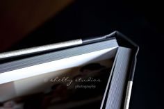 Leather Craftsmen 3500 with Split-Tone cover. The Cover material = Silver Brush Premium Fabric & the Spine material = Black Leather. (Source: http://www.shelby-studios.com/blog/?p=7798) #ShellyStudiosPhotography #FlushMountAlbum