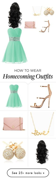"""""""Spring Fling Dream"""" by badshawty2 on Polyvore featuring Minnie Grace, Loushelou, Tory Burch and Charlotte Russe"""