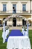 Romantic wedding at Chateau Mcely Designed by La Florista Romantic, Table Decorations, Wedding, Design, Projects, Valentines Day Weddings, Romance Movies, Weddings