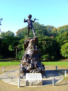 Peter Pan statue, Sefton Park