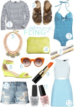 2014 Spring Essentials - Cupcakes and Cashmere