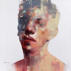 Abstract Portrait, Portrait Art, Portraits, Figure Painting, Figure Drawing, Painting & Drawing, Art And Illustration, Painting Inspiration, Art Inspo