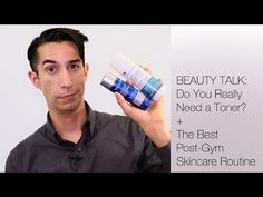 Not sure how a toner can benefit your skincare routine?  #PaulasChoice staffer Nathan explains why they're misunderstood, as well as the benefits you should expect from adding one to your routine!  Also, find out what products you should use (and when) post-workout.  #SkinCare #BeautyTalk