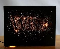 Lighted Wish Frame - Club Scrap - by Karen Wyngaard