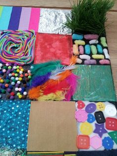 Up close sensory board