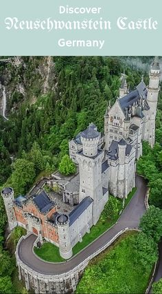 Aerial Views of Neuschwanstein 4K Fairytale Castles of Europe in Germany. Click to see the all of the great views at https://youtu.be/Bc8WgXSg_A8