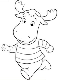Backyardigans halloween coloring pages | 317x235
