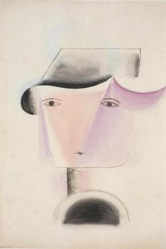 Hlava dívky v klobouku (1914)