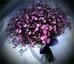 pink gyp bouquet