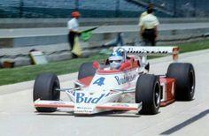 Johnny Rutherford McLaren M 24 1979 Indy 500 Indy Car Racing, Indy Cars, Racing Team, Sprint Cars, Race Cars, Bruce Mclaren, Mclaren Cars, Indianapolis Motor Speedway, Cars Series