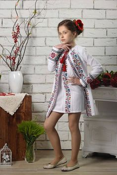 Kids Summer Dresses, Top Mode, Culture Clothing, Frock Fashion, Crochet Cardigan, Traditional Dresses, Teen Fashion, Baby Dress, Kids Outfits