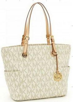 f8a69d18f1d6 Shopping Cheap fashion Logo Medium Beige Women Totes Outlet Online. Michael  Kors Tote