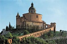 Santuario di Madonna di San Luca in Bologna! Looks like a castle in the clouds!