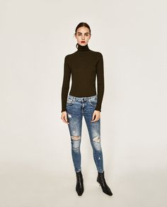 Image 1 of MID-RISE JEANS from Zara