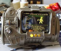 Fallout fans will rejoice over this functional Pip-Boy 3000 replica. This stunningly awesome custom built prop from the game looks and feels just like the real thing - just don't expect it to give you any actual information or useful player stats.