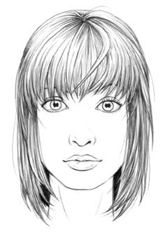 How to draw hair: female
