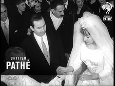 Italy - Musso's Son Weds Mussolini's Son Weds Sophia Loren's Sister (1962)