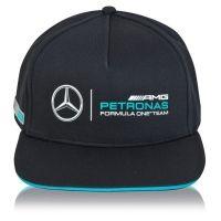Mercedes AMG Petronas Team Classic Flat Brim Cap - Men - Black Mercedes Accessories, Nhl Hockey Jerseys, Amg Petronas, Red Bull Racing, Lewis Hamilton, Mens Caps, Mercedes Amg, Caps Hats, Hats For Women