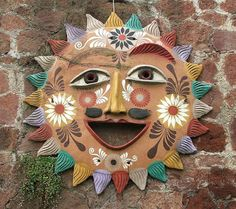 Clay Suns from Mexico