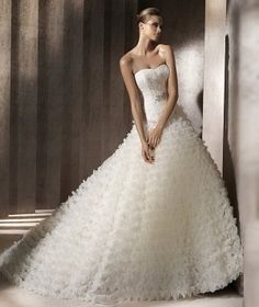 Ball Gowns & A Line Gowns Wedding Dresses Photos on WeddingWire