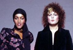 """Gloria Jones & Marc Bolan. Jones is the mother of Bolan's son, Rolan. After drinking wine together, Jones was driving the car which crashed, killing Bolan & severely injuring herself. Jones was known as the """"Northern [England] Queen of Soul."""" She sang the original """"Tainted Love."""" Wrote for Motown, including Gladys Knight & the Pips' Grammy-nominated """"If I Were Your Woman."""""""