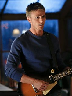 A cute guy in boyfriend material sweater and a guitar.Give me this anyday! Pretty Men, Gorgeous Men, Wade Kinsella, Wilson Bethel, Hart Of Dixie, Man Alive, Boyfriend Material, Cute Guys, I Movie
