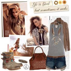 """""""Hippie-style"""" by kella on Polyvore"""