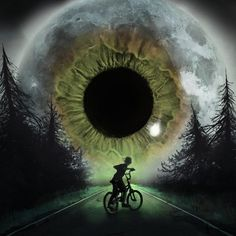 Strange High House of Mist Moon Images, Dark Photography, Dark Fantasy Art, Eye Art, Book Of Shadows, Nature Pictures, Picture Tattoos, Art Sketches, Collage Art
