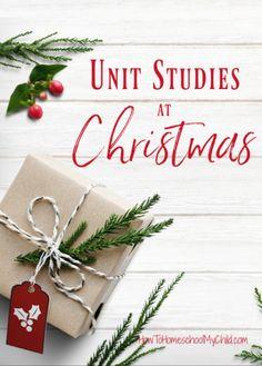 Christmas unit study