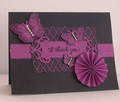 To Thank You by missmacymay - Cards and Paper Crafts at Splitcoaststampers