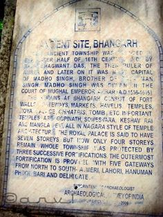 FAQ style guide for Bhangarh Fort.