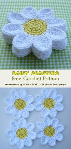 Transcendent Crochet a Solid Granny Square Ideas. Inconceivable Crochet a Solid Granny Square Ideas. Yarn Projects, Knitting Projects, Crochet Projects, Knitting Patterns, Crochet Patterns, Crochet Coaster Pattern Free, Free Knitting, Crochet Ideas, Sewing Patterns