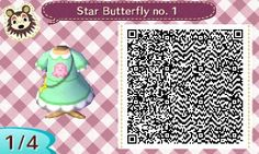AC:NL, HHD and others — Look what I made! :3 Star Butterfly's dress from...