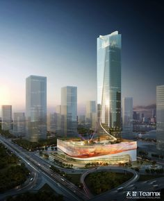 Mixed use building -- Financial Tower on Behance